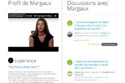 Module ambassadeurs du site carrières deloitterecrute.fr